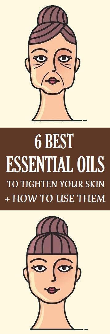 essential oils against saggy skin